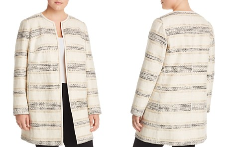 Lafayette 148 New York Plus Pria Striped Jacquard Jacket - Bloomingdale's_2