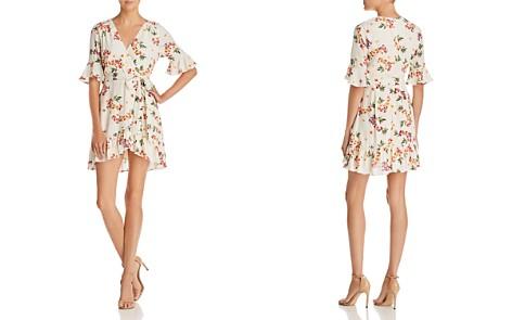 Lost + Wander Regina Printed Faux-Wrap Mini Dress - Bloomingdale's_2