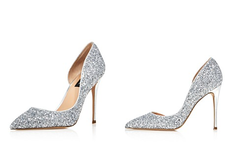AQUA Women's Dion Glitter Embellished High-Heel d'Orsay Pumps - 100% Exclusive - Bloomingdale's_2