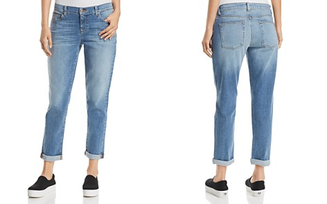Eileen Fisher Boyfriend Jeans in Sky Blue - Bloomingdale's_2
