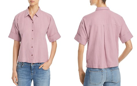 Eileen Fisher Button Down Shirt - Bloomingdale's_2