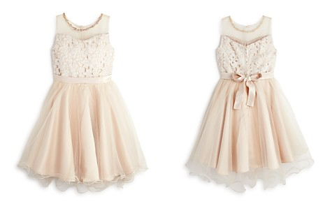 US Angels Girls' Lace & Tulle Illusion-Top Dress - Big Kid - Bloomingdale's_2