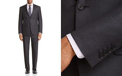 Canali Birdseye Classic Fit Suit - Bloomingdale's_2