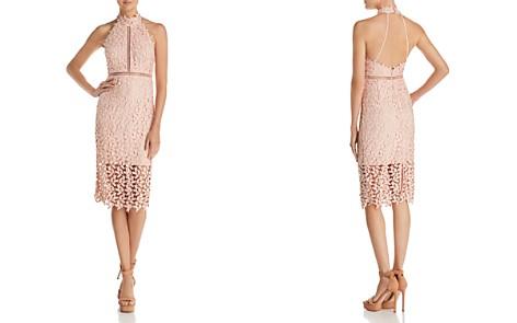 Bardot Gemma Lace Halter Dress - Bloomingdale's_2