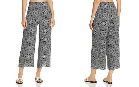 AQUA Tapestry-Print Cropped Wide Leg Pants - 100% Exclusive - Bloomingdale's_2