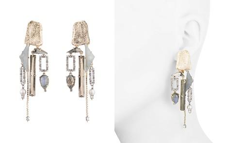 Alexis Bittar Geometric Clip-On Chandelier Earrings - Bloomingdale's_2