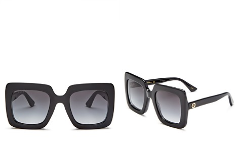 Gucci Rectangular Sunglasses, 53mm - Bloomingdale's_2