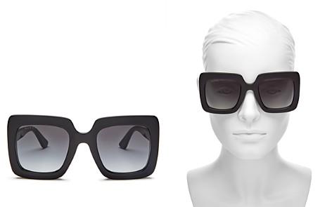 Gucci Women's Rectangular Sunglasses, 53mm - Bloomingdale's_2