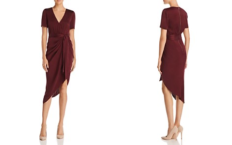 Alice + Olivia Alana Asymmetric Draped Dress - Bloomingdale's_2