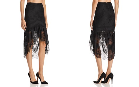 Alice + Olivia Triss High/Low Lace Skirt - Bloomingdale's_2