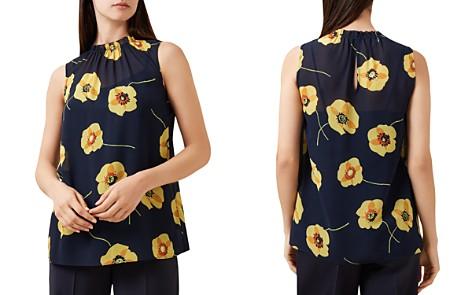 HOBBS LONDON Faye Floral Print Top - Bloomingdale's_2
