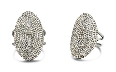 Ela Rae Oval Diamond Cocktail Ring - Bloomingdale's_2