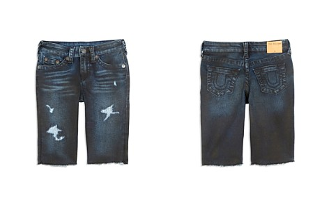 True Religion Boys' Distressed Geno French Terry Shorts - Little Kid, Big Kid - Bloomingdale's_2