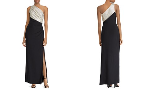Lauren Ralph Lauren One-Shoulder Gown - Bloomingdale's_2
