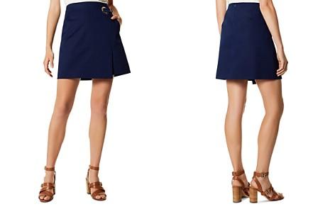 KAREN MILLEN Faux-Wrap Mini Skirt - Bloomingdale's_2