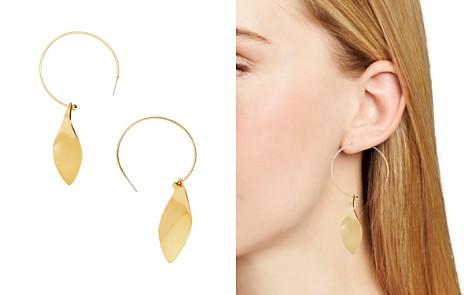 BAUBLEBAR Robin Wavy Petal Hoop Drop Earrings - Bloomingdale's_2