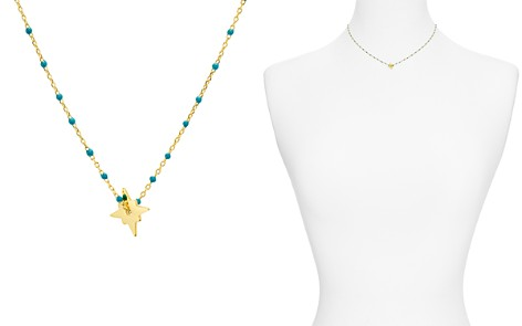 "Argento Vivo North Star Enamel-Detail Necklace, 14"" - Bloomingdale's_2"