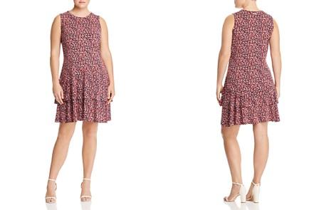 MICHAEL Michael Kors Plus Floral Tiered Ruffle Dress - Bloomingdale's_2