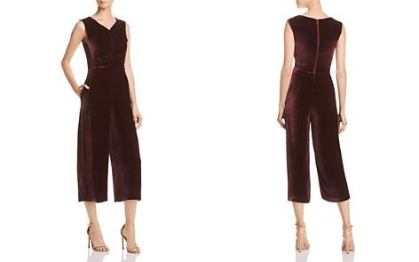 Rebecca Taylor Cropped Velvet Jumpsuit - 100% Exclusive - Bloomingdale's_2