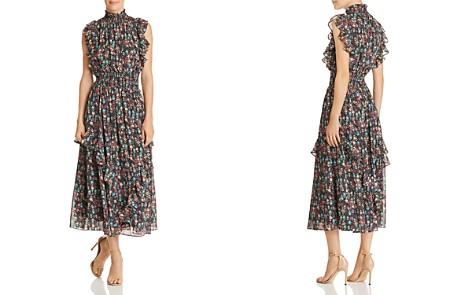 nanette Nanette Lepore Ruffle-Trim Floral-Print Maxi Dress - Bloomingdale's_2