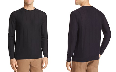 Emporio Armani Vertical Ribbed Sweater - Bloomingdale's_2