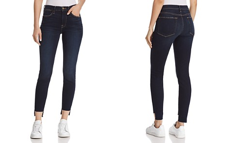 FRAME Le High Skinny Raw-Edge Stagger Jeans in Cabana - 100% Exclusive - Bloomingdale's_2