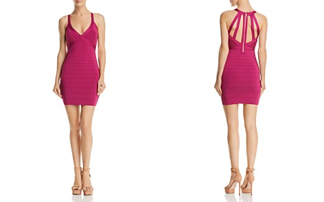GUESS Mirage Cage-Back Dress - Bloomingdale's_2