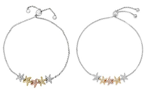 Bloomingdale's Diamond Starfish Bolo Bracelet in 14K Rose, Yellow & White Gold, 0.25 ct. t.w. - 100% Exclusive_2