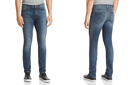 PAIGE Lennox Skinny Fit Jeans in Dustin - Bloomingdale's_2
