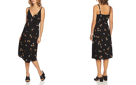 1.STATE Floral-Print Midi Wrap Dress - Bloomingdale's_2