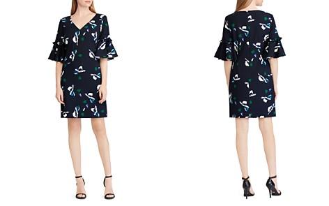 Lauren Ralph Lauren Petites Bell-Sleeve Floral-Print Dress - Bloomingdale's_2