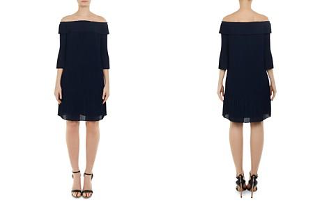 Ted Baker Franeis Off-the-Shoulder Pleated Dress - Bloomingdale's_2