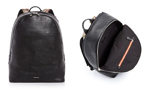 Paul Smith Multistripe Strap Leather Backpack - Bloomingdale's_2