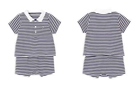 Jacadi Boys' Striped Polo & Shorts Set - Baby - Bloomingdale's_2