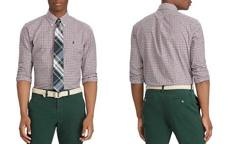 Polo Ralph Lauren Polo Plaid Poplin Classic Fit Shirt - Bloomingdale's_2