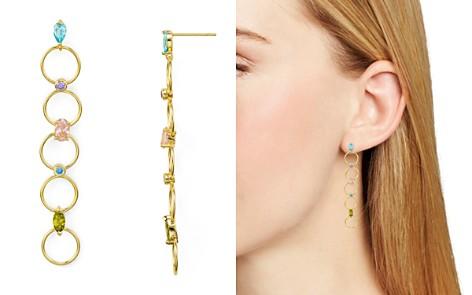 Argento Vivo Watermelon Multi-Loop Linear Drop Earrings - Bloomingdale's_2