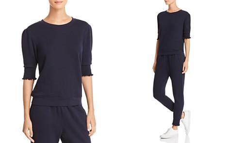 Joie Maita Smocked-Sleeve Sweatshirt - Bloomingdale's_2