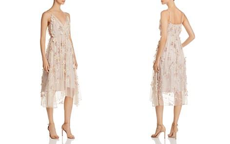 Elie Tahari Lisandra Floral Appliqué Dress - Bloomingdale's_2