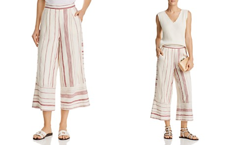 Lost and Wander Mariana Striped Wide-Leg Pants - Bloomingdale's_2