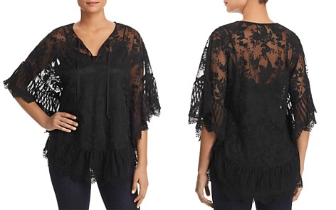Le Gali Josette Embroidered Mesh Blouse - 100% Exclusive - Bloomingdale's_2