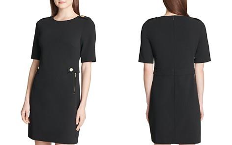 Calvin Klein Embellished Ponte Sheath Dress - Bloomingdale's_2