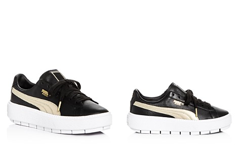 PUMA Women's Trace Varsity Leather Lace Up Platform Sneakers - Bloomingdale's_2