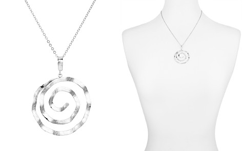 "Bloomingdale's Hammered Spiral Pendant Necklace, 17"" - 100% Exclusive_2"