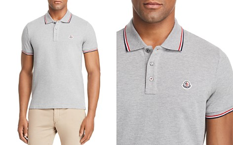 Moncler Maglia Tipped Polo Shirt - Bloomingdale's_2