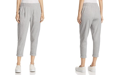 Eileen Fisher Speckled Knit Ankle Jogger Pants - Bloomingdale's_2