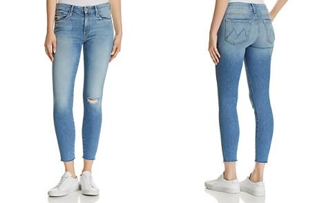 MOTHER Looker Ankle Fray Skinny Jeans in Love Gun - Bloomingdale's_2