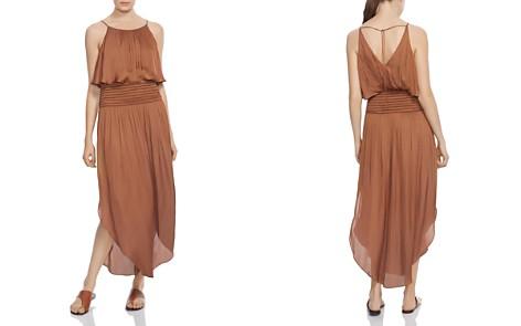 HALSTON HERITAGE Smocked-Waist Maxi Dress - Bloomingdale's_2