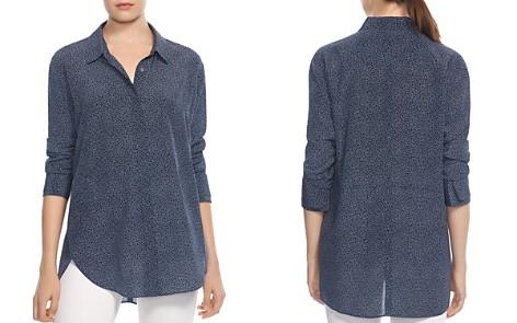 HALSTON HERITAGE Printed Silk Shirt - Bloomingdale's_2