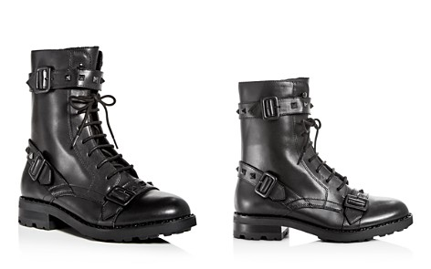 Ash Women's Witch Studded Leather Moto Boots - Bloomingdale's_2