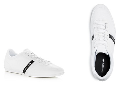 Lacoste Men's Storda Perforated Leather Lace up Sneakers - Bloomingdale's_2